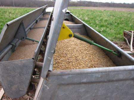 Seeding Compartments Grain Drill
