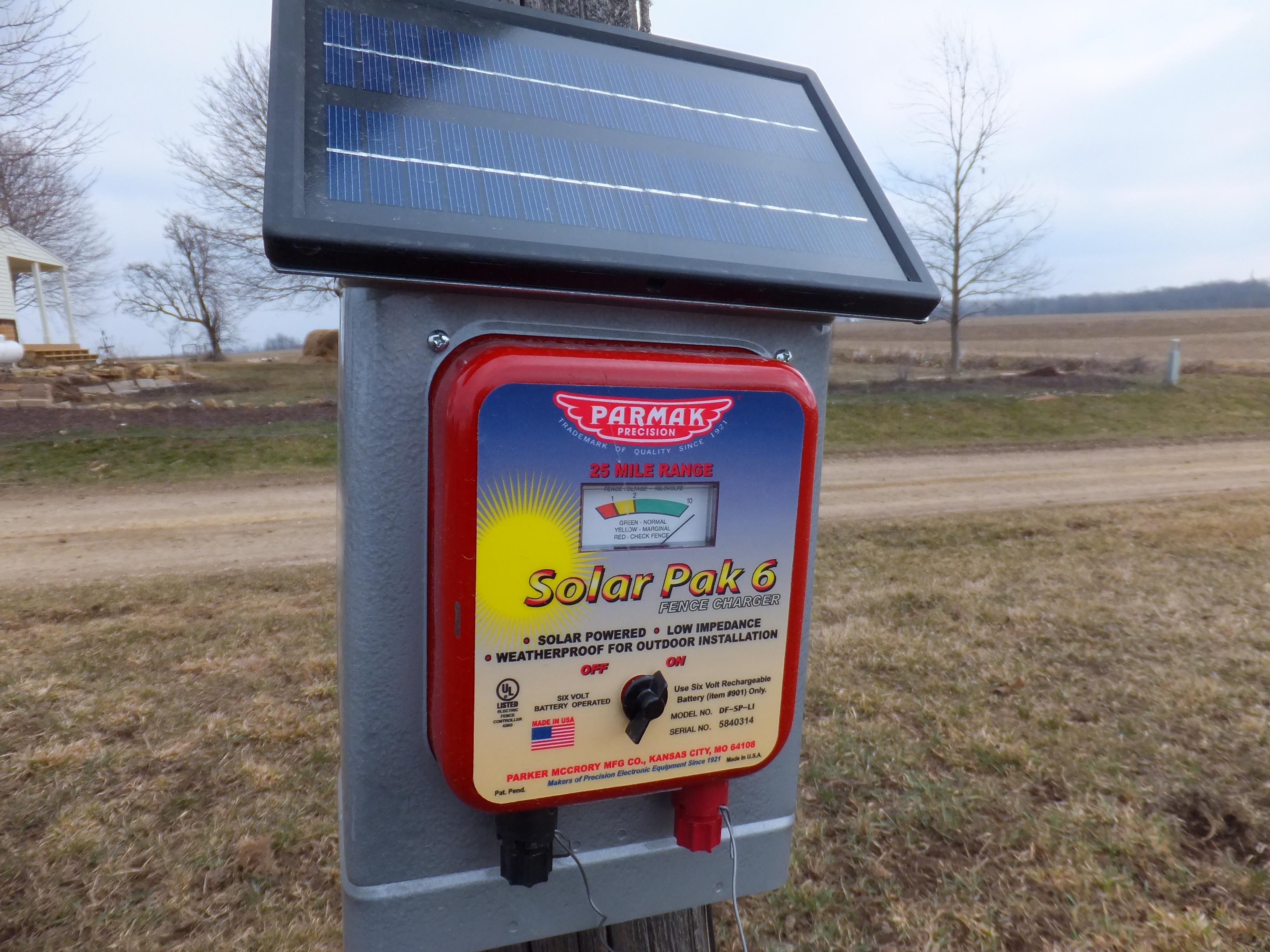 solar fence charger curiousfarmer
